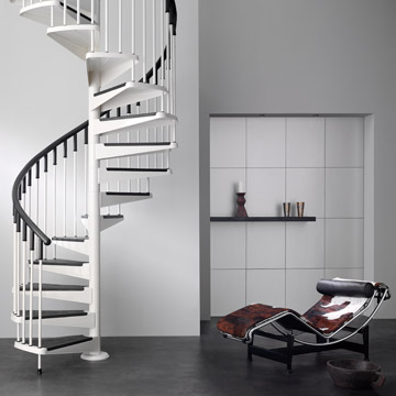 Servicios - Escaleras de caracol minimalistas ...